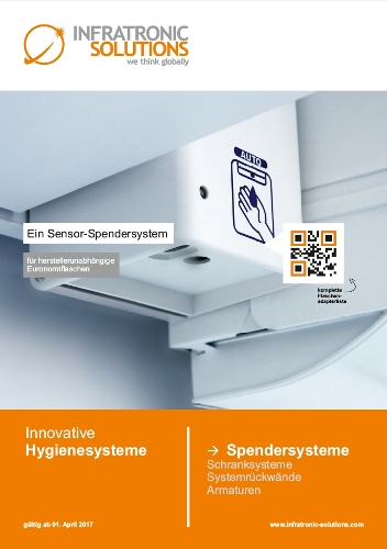 INFRATRONIC SOLUTIONS Spendersysteme