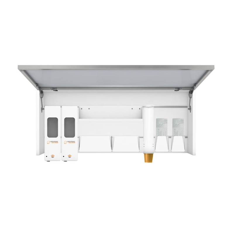 Schranksysteme Slimline-XL für Sensorspender und Zubehör