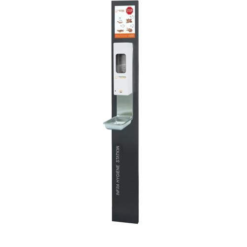 Infra Hygiene Station zur Wandmontage und IT-1000 Aw-Euro Sensorspender
