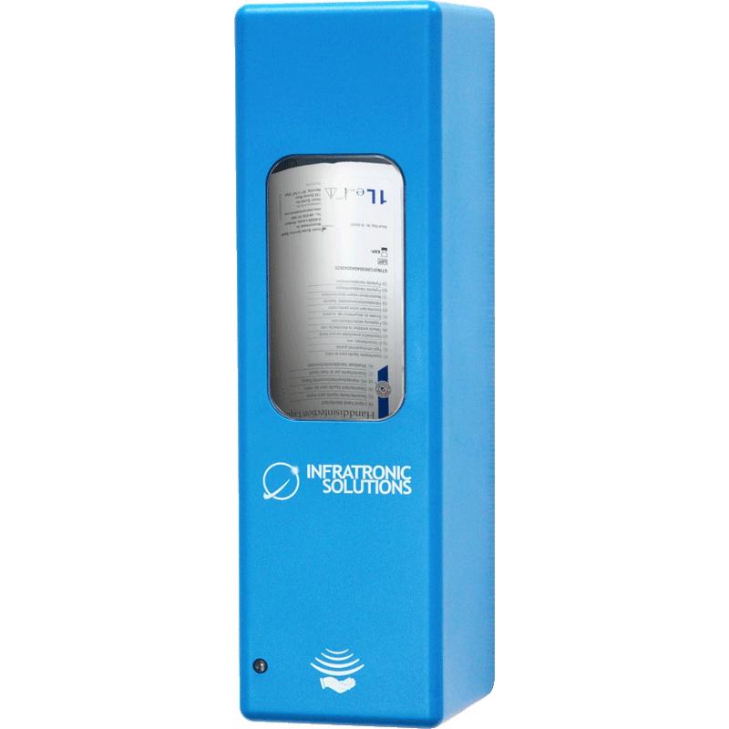 Hygienespender für Desinfektion Blau
