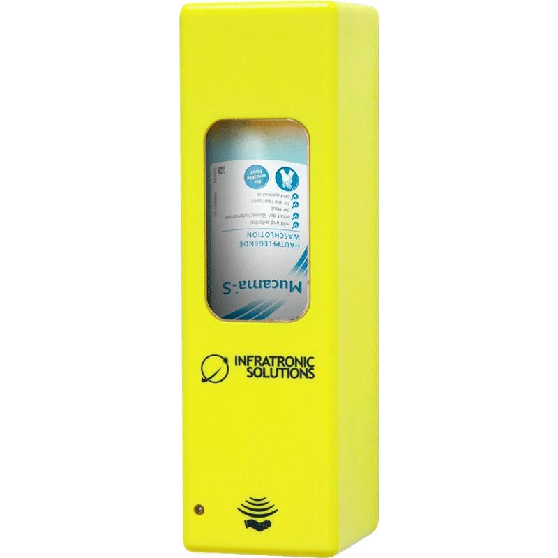 Hygienespender für Desinfektion Gelb