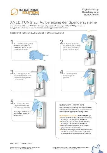 Anleitung zur Aufbereitung der Spendersysteme