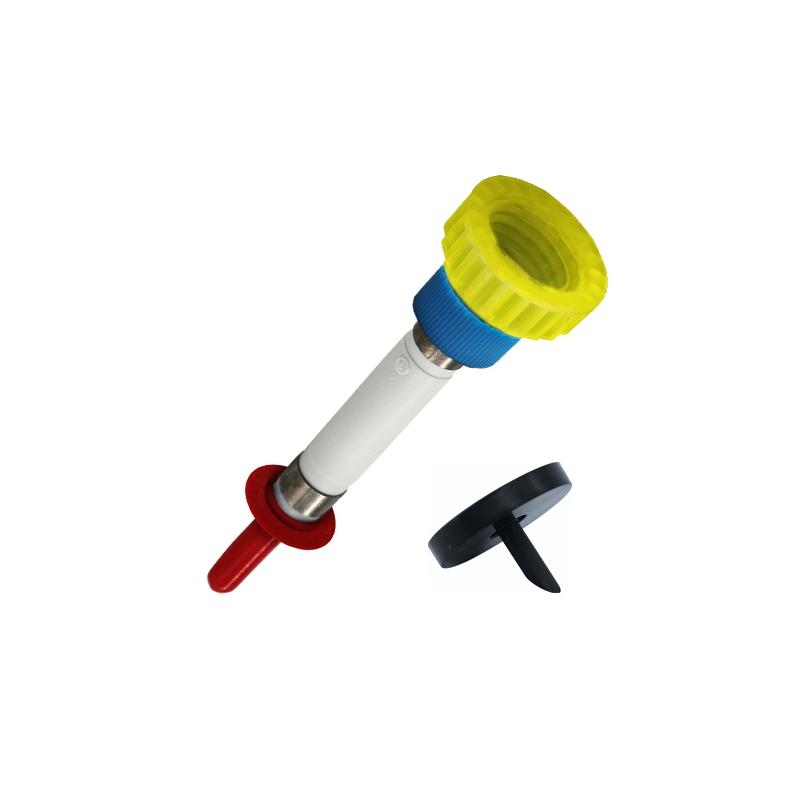 Pumpen-Adapter-Kombinationen für Euro-E-Boxen mit Klemmscheiben S-DL Überwurf blau