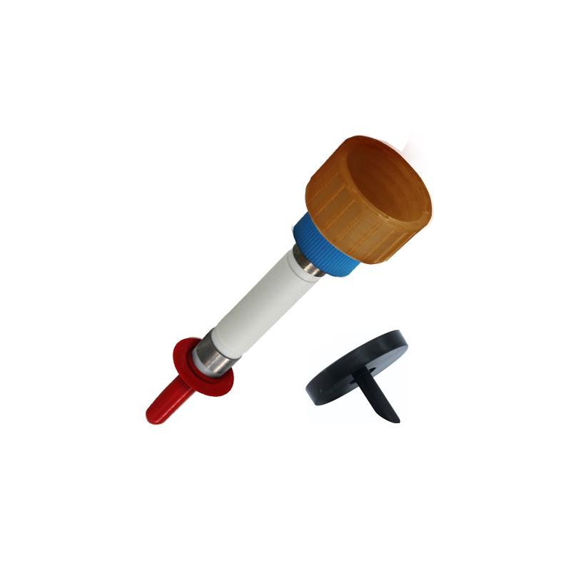 Pumpen-Adapter-Kombinationen für Euro-E-Boxen mit Klemmscheiben E-DL Überwurf blau
