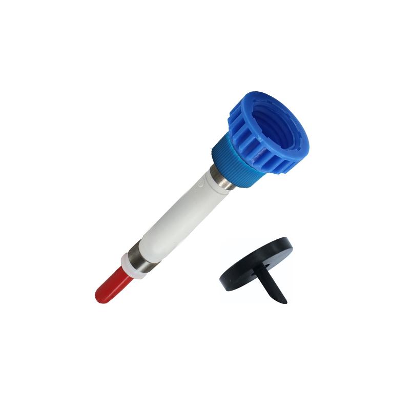 Pumpen-Adapter-Kombinationen für F-EURO ohne Klemmscheiben SL-DL Überwurf blau