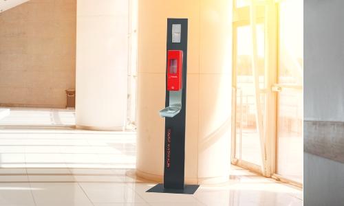 Hygiene Stationen für Eingangbereich Infratronic Solutions