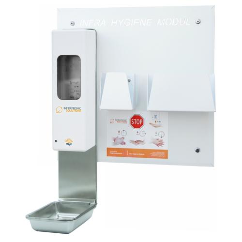 Hygienemodule IHM Wandmodul Hygienespender und Sensorspender von Infratronic