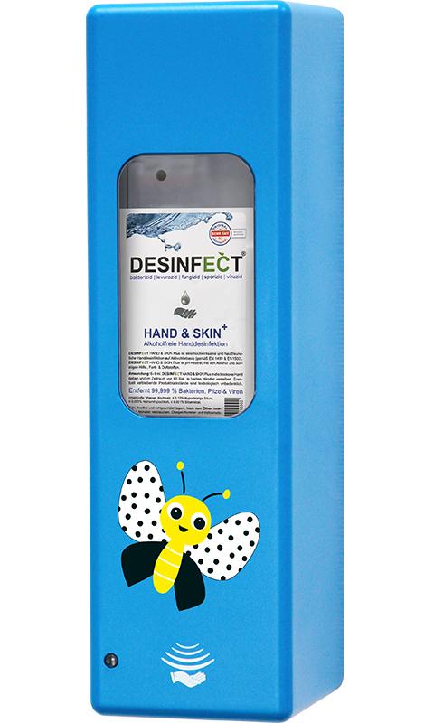 Hygienespender Blau Schmetterling