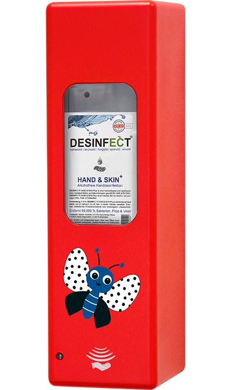 Hygienespender Rot Schmetterlinge