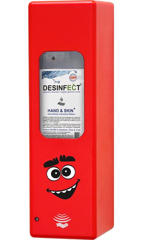 Hygienespender Rot Sid