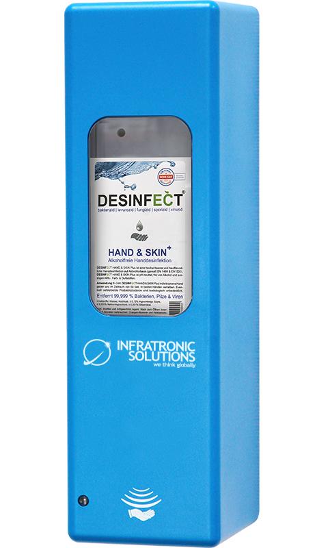 Hygienespender Blau