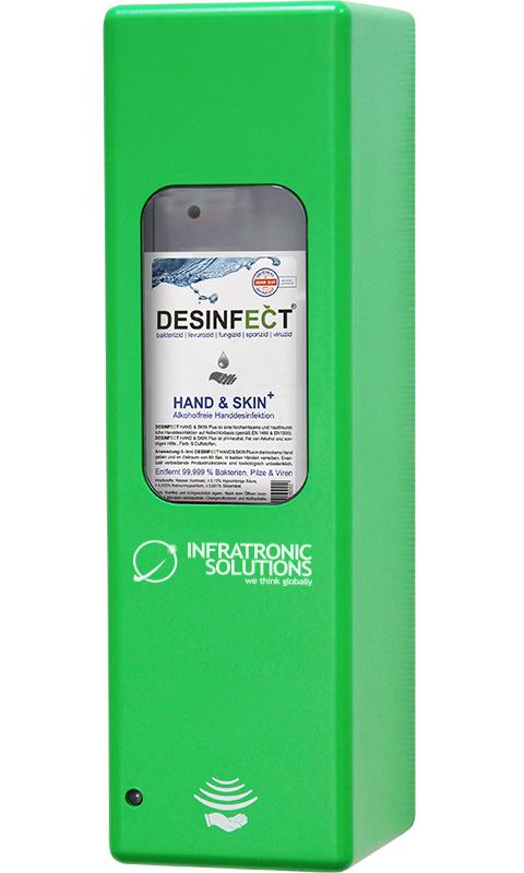 Hygienespender Grün
