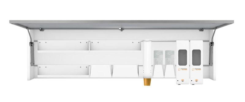 Hygieneschrank Slimline XXL Ausstattung 70120