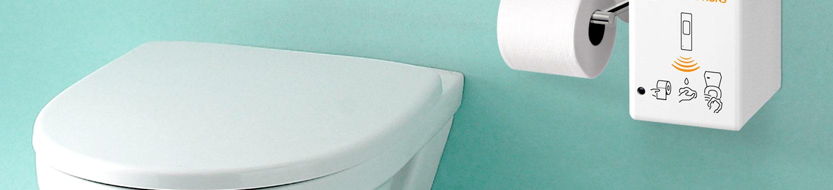 WC Sitz Desinfektionsmittelspender